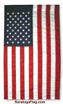 USA FLAG- Banner Style with Pole Hem Pole sleeve